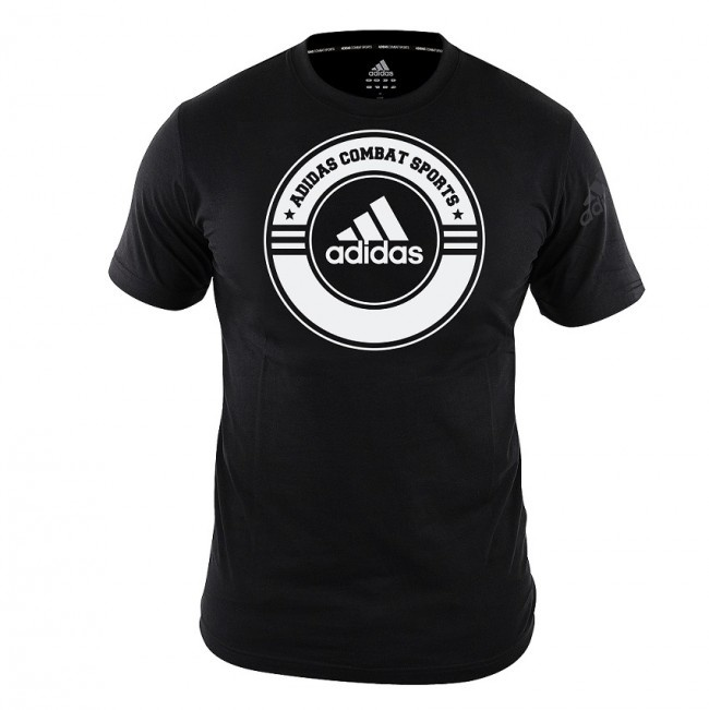 Adidas adidas T-Shirt Combat Sports Zwart/Wit