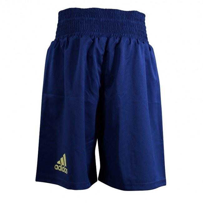 Adidas adidas Multi Boxing Short Micro Diamond Blauw/Geel