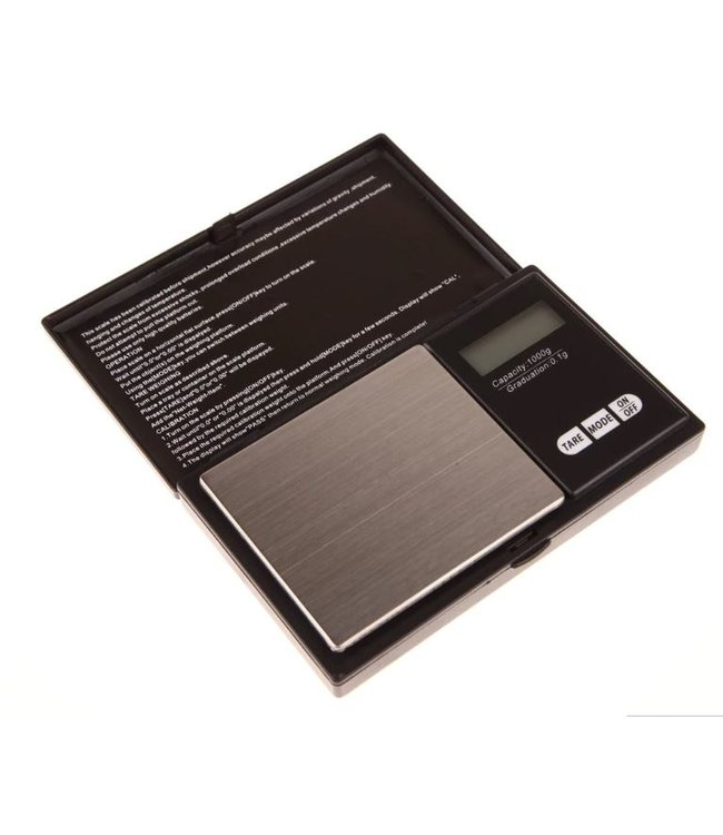 Pocket Weegschaal 0.01 – 500 Gram