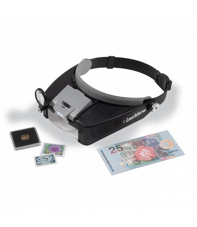 LED-Kopfbandlupe Fokus Mit 1,5- Bis 8-Facher Vergrößerung
