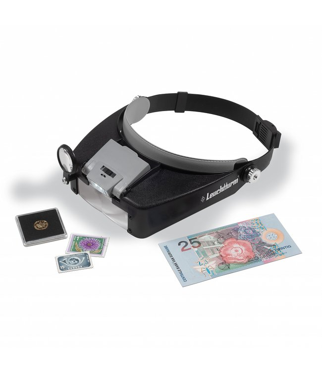 Leuchtturm (Lighthouse) LEDHeadband Magnifier Focus With 1.5x Up To 8x Magnification