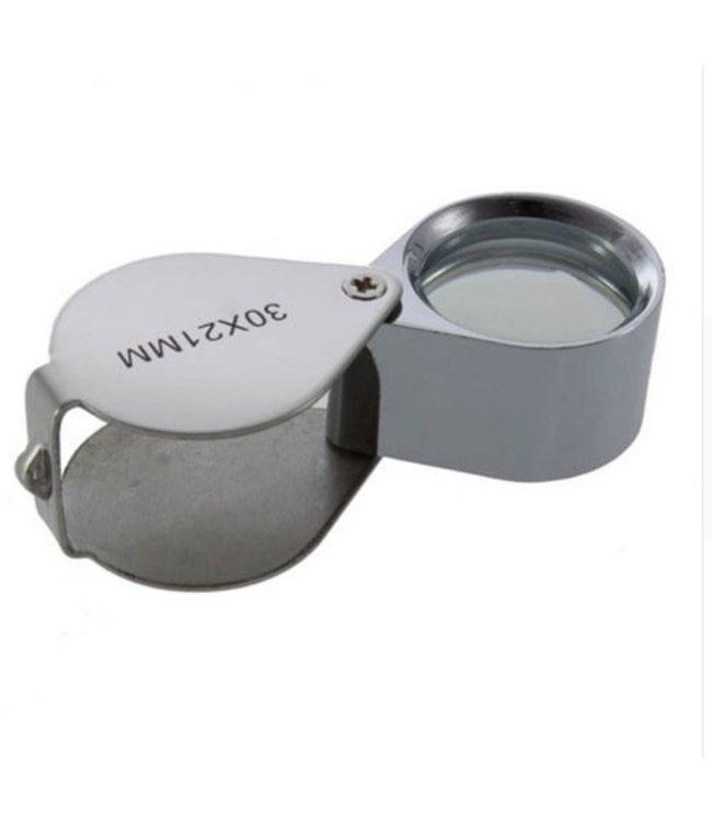 Juweliers Pocket Loep 30 x 21mm