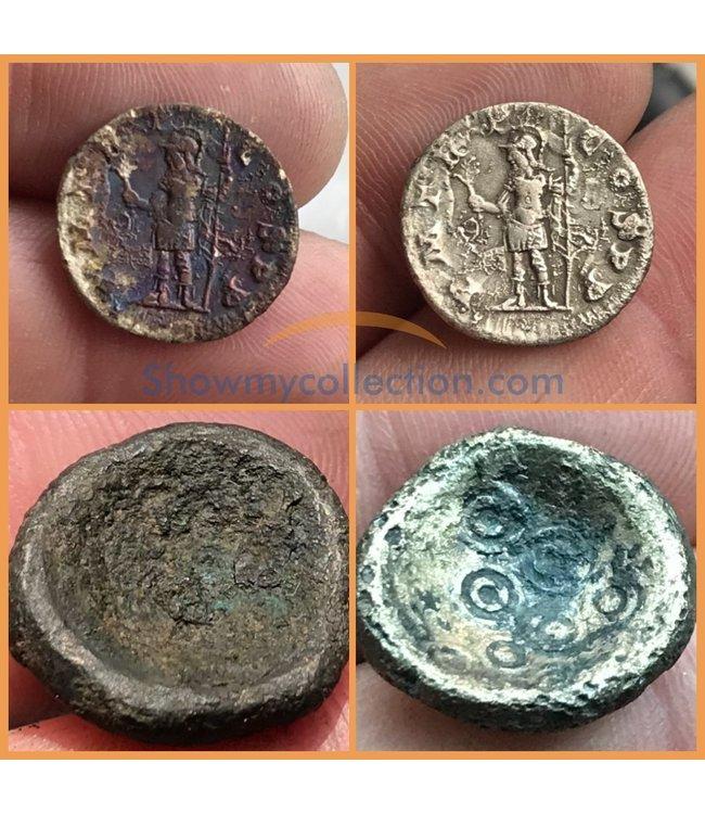 Flüssigkeit zum Reinigen von Plattierten Münzen /  Münzen von  Billon / Silbermünzen