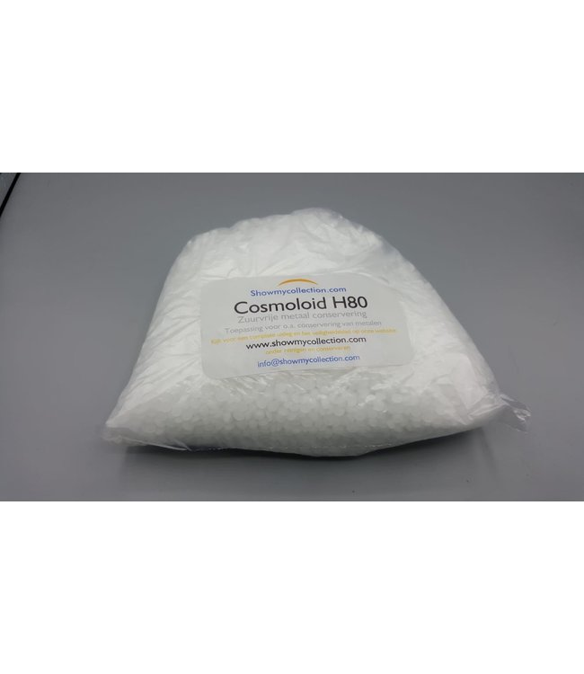 Microcrystalline Wax Cosmoloid H80 For Acid-Free Metal Preservation