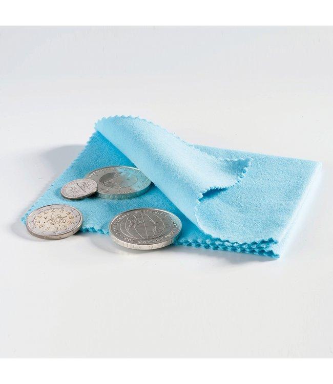 Münz-Poliertuch / Blau