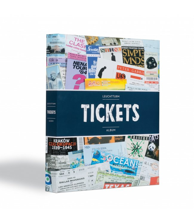 Album For Concert / Sports Tickets