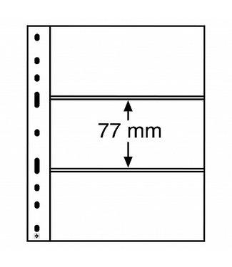 Leuchtturm (Lighthouse) Plastic Pockets Optima 3-Way Division