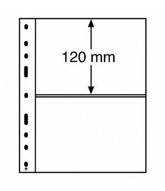 Leuchtturm (Lighthouse) Plastic Pockets Optima 2-Way Division