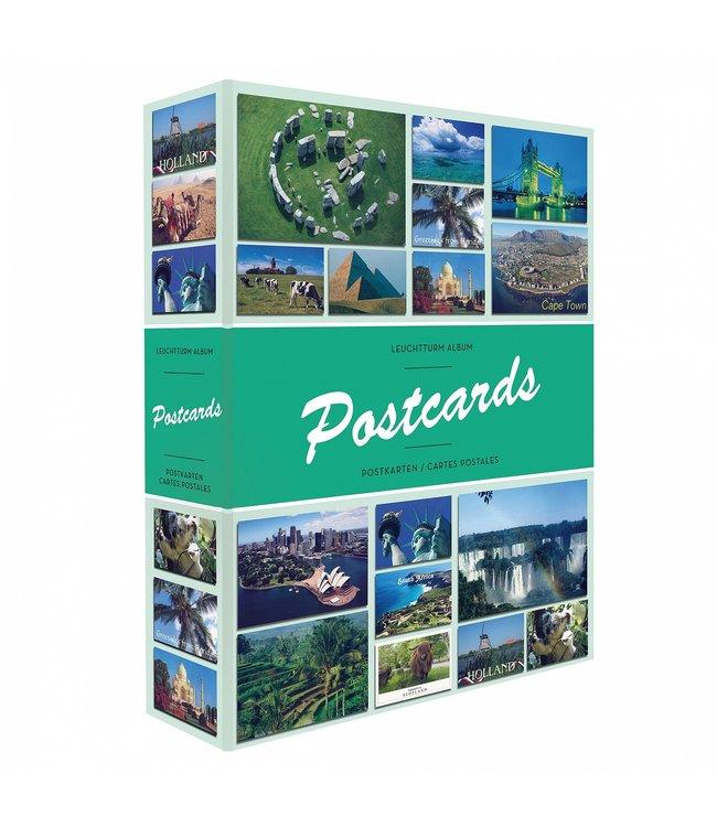 Album Postcards Für 200 Postkarten / Mit 50 Festeingebundenen Hüllen