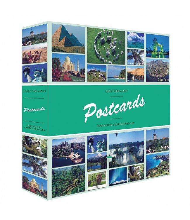 Album Für 600 Postkarten / Mit 50 Festeingebundenen Hüllen