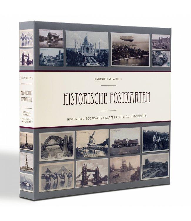 Album Für 600 Historische Postkarten / 50 Eingebundenen Klarsichthüllen