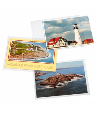 Leuchtturm (Lighthouse) Protective Sheets For Stamps / Pictures / Postcards