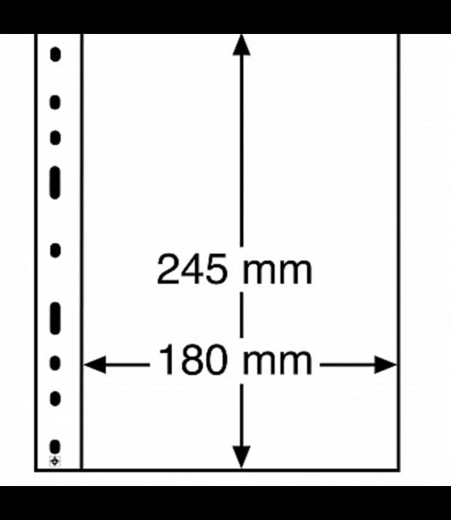 Plastic Pockets Optima / No Divisions
