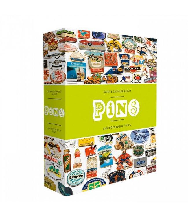 Pin-Album / Inkl. 4 Samtbezogenen Pintafeln