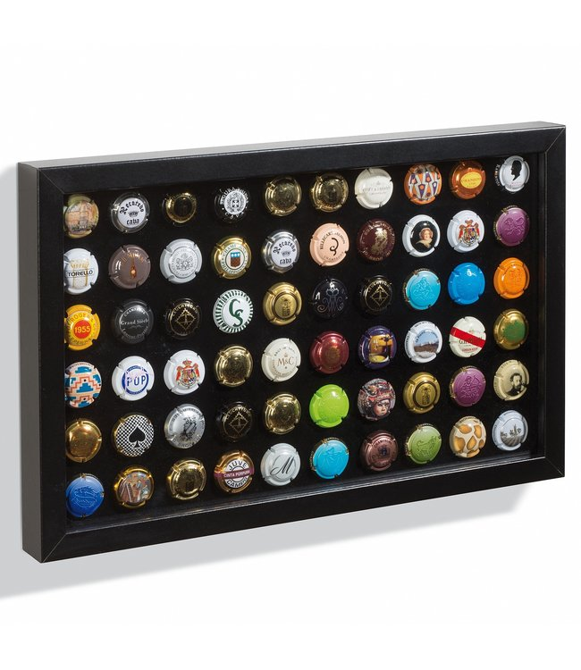 Presentation Display For 60 Champagne Caps / Bottle Caps