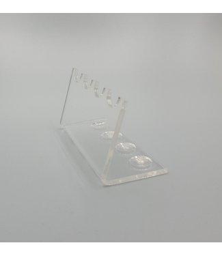 SMC Acryl Standaard Voor 4 Pennen / Theelepels / Hulzen (Klein)