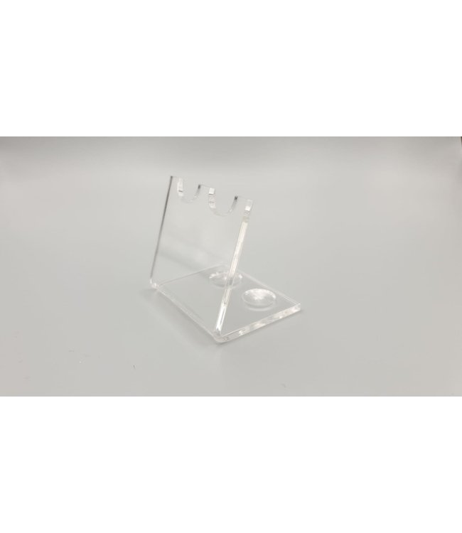 Acrylic Display Stand For 2 Pens / Teaspoons / Bullet Shells / Cartridges (Small)