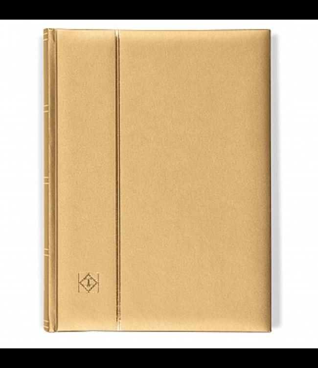 Stockbook Comfort / 64 Black Pages / Metallic Edition