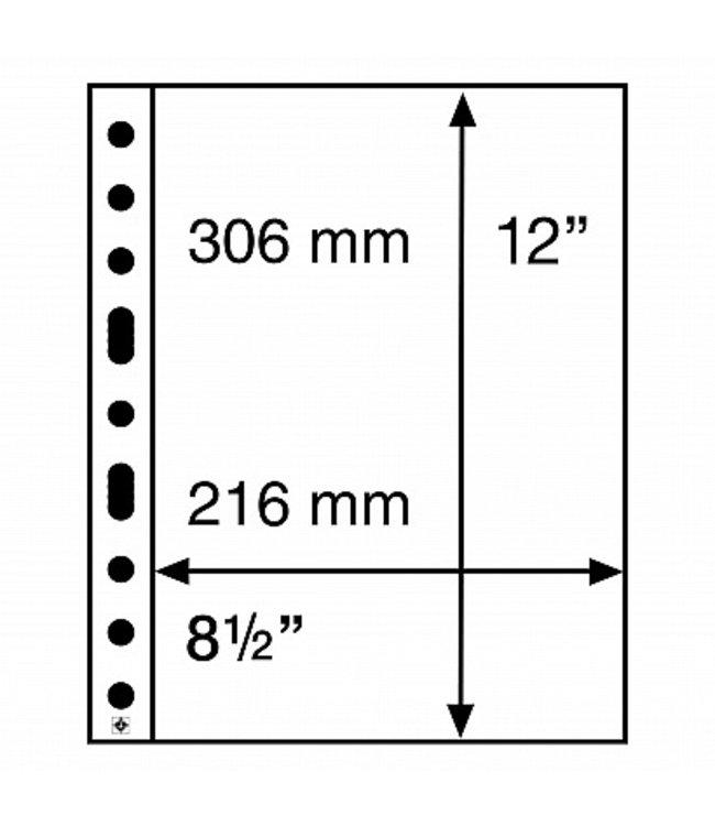 Kunststoffhüllen / 1 Tasche / Klar / 50er Pack