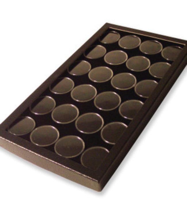 Riker Display Case Met 24 Capsules
