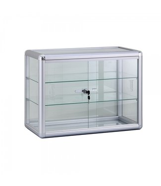 SMC Small Display Cabinet / Two Shelves / Lockable