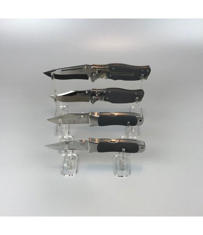 Paar Ausstellungsständer Für (Taschen)Messer / Dolche