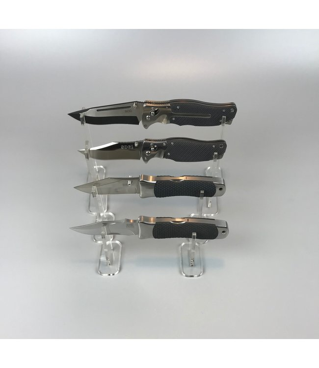 Pair Of Display Stands For (Pocket)Knives / Daggers