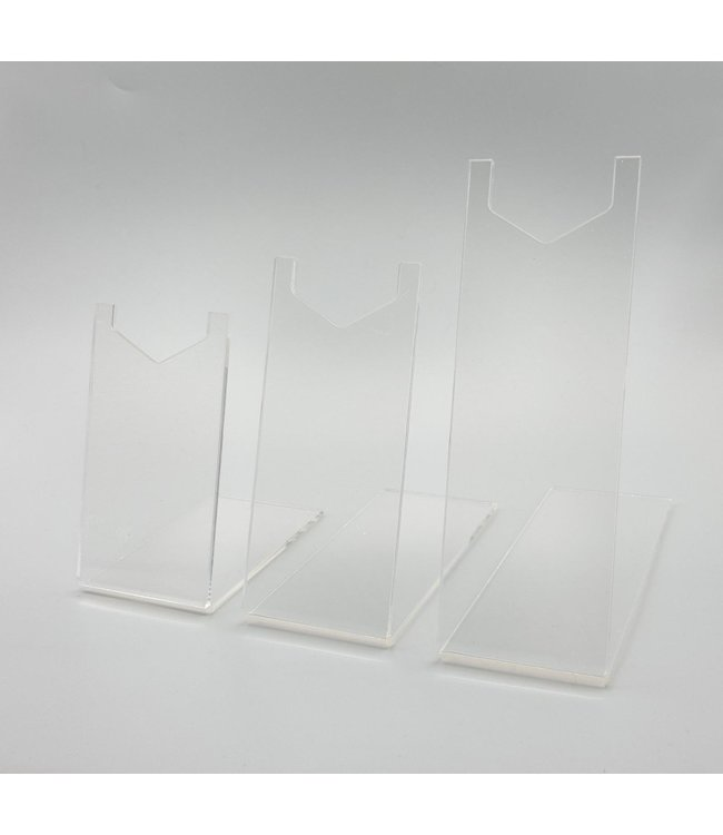 Acrylic Pistol / Revolver Display Stand (3 sizes)