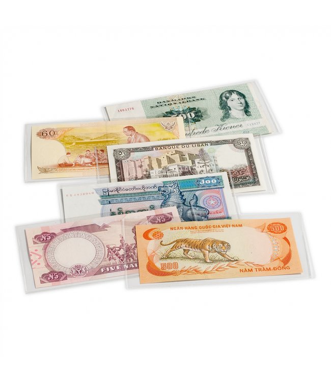 Banknote Sheets / Basic / 3 sizes / Pack of 50