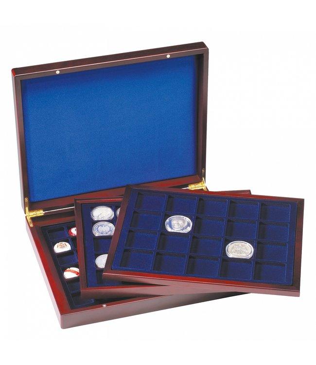 Presentation Case Volterra Trio / De Luxe / For Coins / Round Coin Capsules