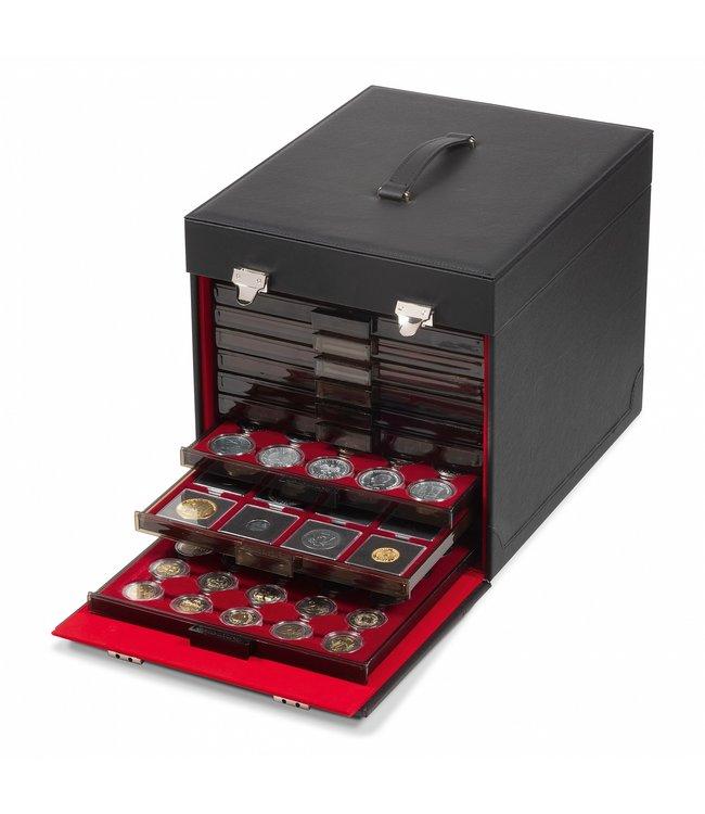 Muntenkoffer / Zwart  / Voor 10 Munten Boxen