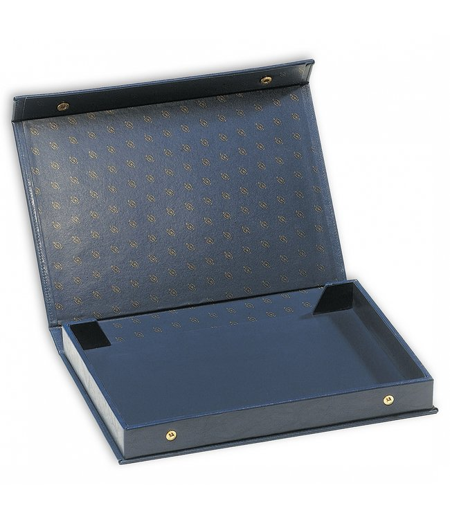 Munten Case L / Voor 4 Munten Trays / Blauw
