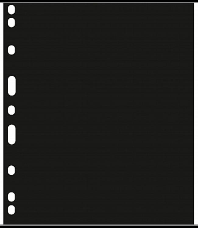 Schutbladen Encap / Zwart