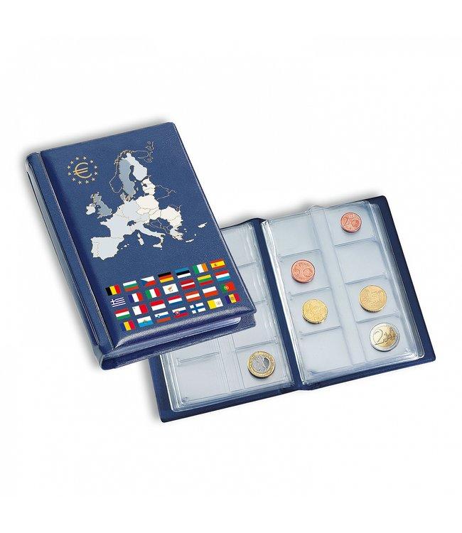 Taschenalbum Route Für 12 Euro-Kursmünzensätze