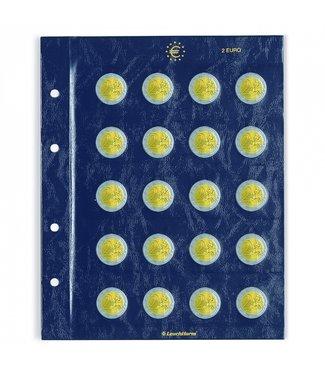 Leuchtturm (Lighthouse) Coin Sheets Vista For 2 Euro Coins