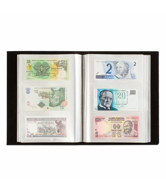 Album Für 300 Banknoten / Schwarz