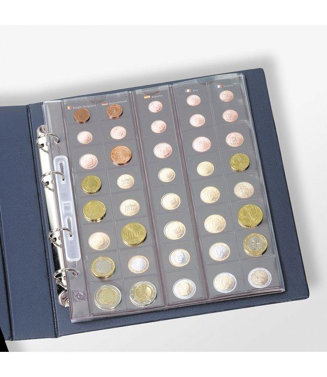 Voorbeeld Schutbladen / Optima Euromunten Album