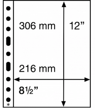 Leuchtturm (Lighthouse) Kunststoffhüllen Grande / 1er Einteilung