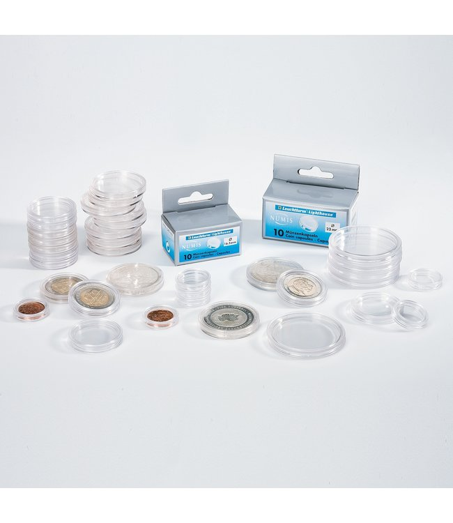 Coin Capsules Grips / Round