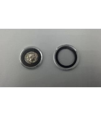 Air-Tite Runde Münzkapseln / Schwarze Einlage