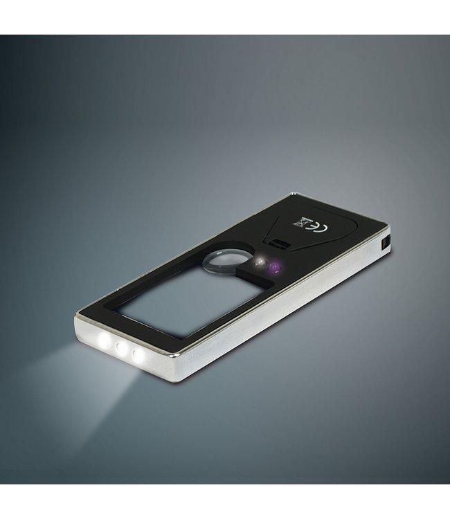 Multifunctional Pocket Magnifier