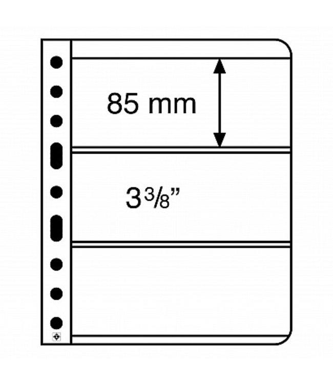 Kunstoffhüllen Vario / 3er-Einteilung