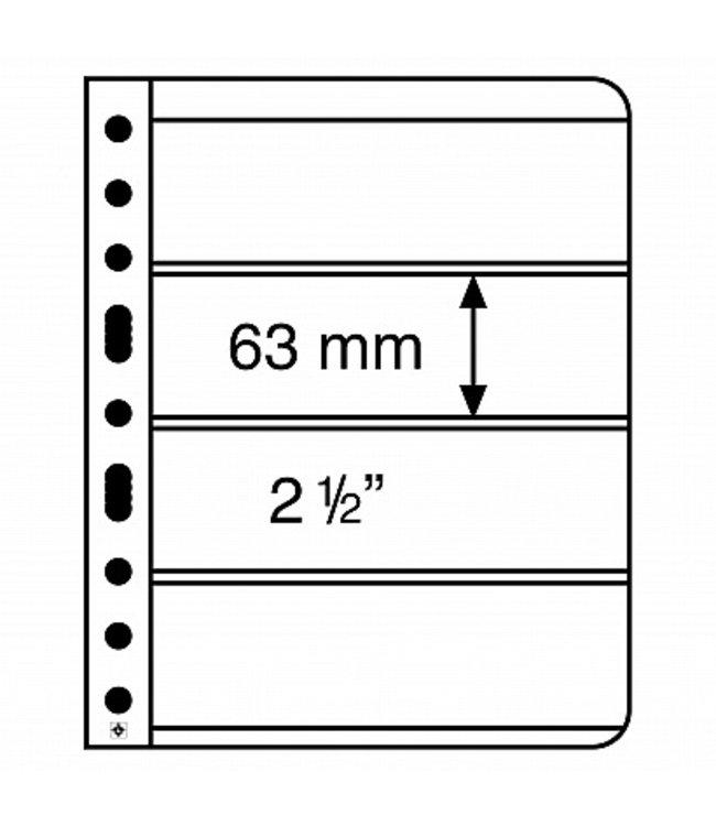 Plastic Pockets Vario / 4-Way Division (Horizontal)