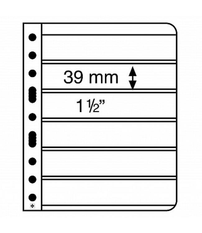Kunstoffhüllen Vario / 6er-Einteilung