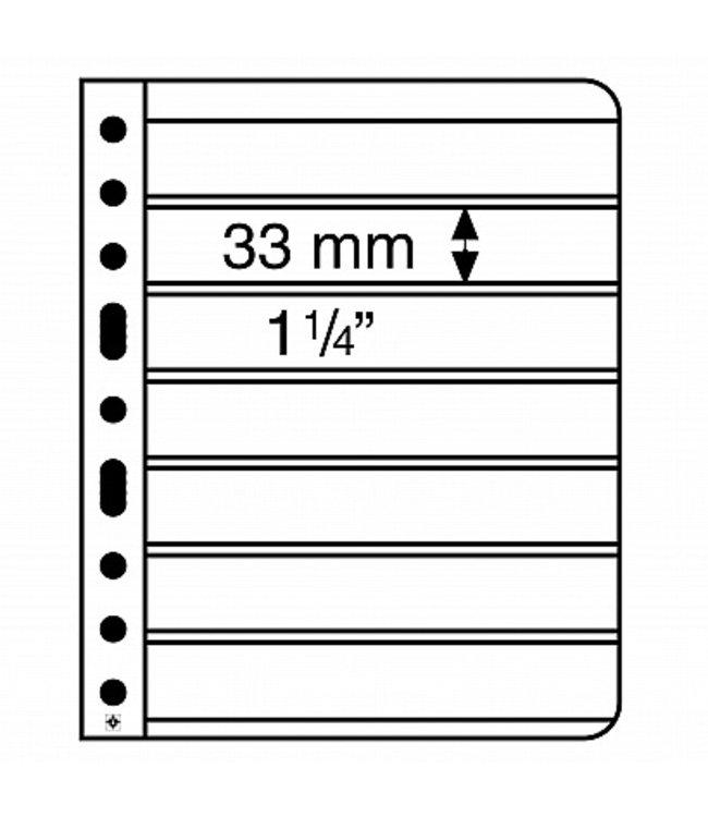 Kunstoffhüllen Vario / 7er-Einteilung