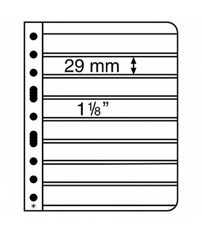 Kunstoffhüllen Vario / 8er-Einteilung