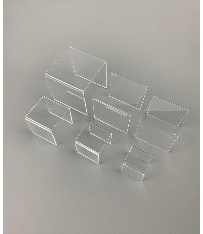 6-delige Set Vierkante Risers