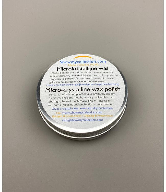 Microcrystalline Wax For Preserving Metal