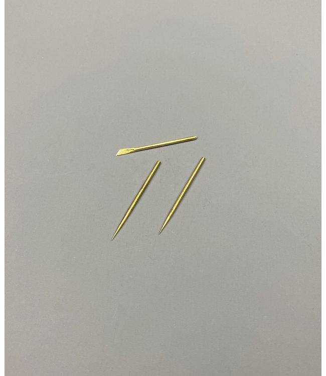 Naalden / Scalpel Set Voor Composite Cleaning Pencil