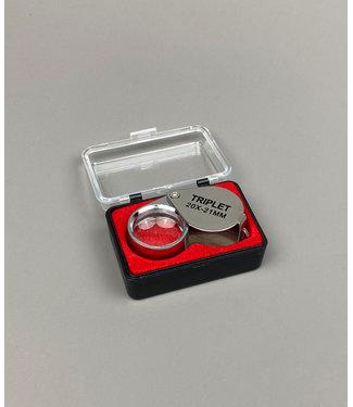 Juweliers Pocket Loep 20 x 21mm